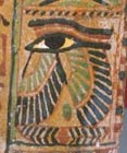 A winged Eye of Heru