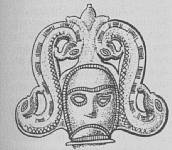 An Irish double-serpent goddess